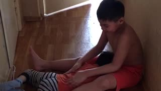 Homemade massage - Video