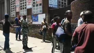 MKMVA Protestors clash with the Police