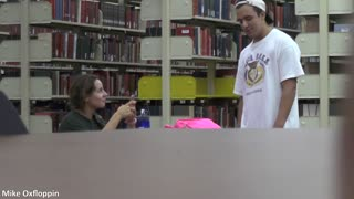 Nervously picking up girls prank