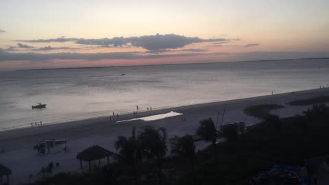 Another Gorgeous Ft. Myers Beach Sunset from the Pink Shell Resort