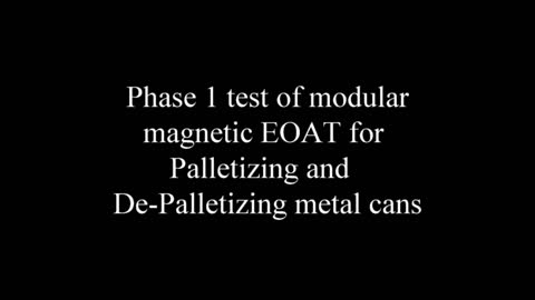 Phase1 Magnetic module for Picking up metal objects