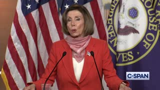 Pelosi spreads 'fake news' lie about Trump