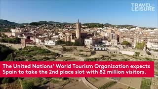 This Destination Is Set to Replace The U.S. As The Second Most Popular Country For Tourists - Video