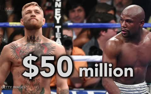 Conor McGregor Wants $100 Million for Floyd Mayweather Fight