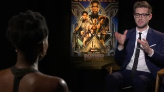 'Black Panther' stars Angela Bassett and Forest Whitaker - Video