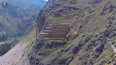 Stunning drone footage exhibits Inca Trail in Peru