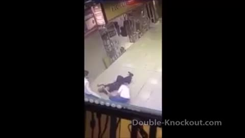 Double knockout!