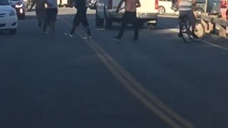 Fight at Hart Park - Video