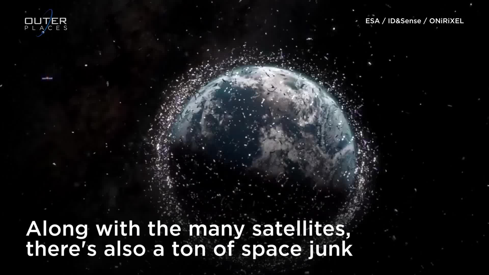 how many satellites are orbiting the