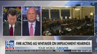 Former Acting AG Matt Whitaker says abuse of power is not a crime