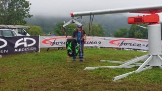 Paragliding G-Force Training - Video