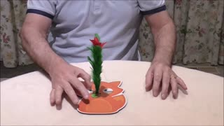 Flower Stem Is Produced From Magic Wand - Video