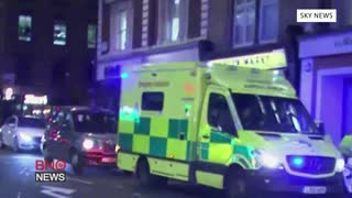 Police Respond to 'shooting' on Oxford Street in London - Video
