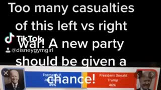Enough is enough! Voters not heard! Too many casualties