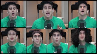 One-man a capella cover of Justin Bieber's