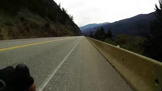 Jackass Mountain Descent - 80km/h for 7km - Video