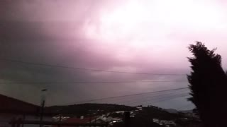 Severe Thunderstorm in Portugal - Video