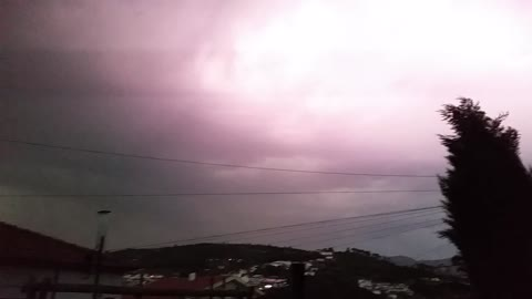 Severe Thunderstorm in Portugal