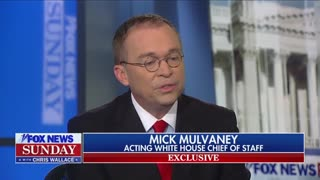 Chris Wallace Grills Mick Mulvaney