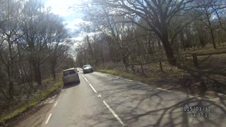 Just Your Normal Motorcycle Ride On A Sunny Day, Until Nature Intervened - Video