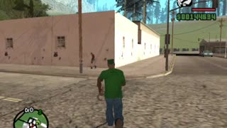 GTA: San Andreas - Interesting observation - A building without doors