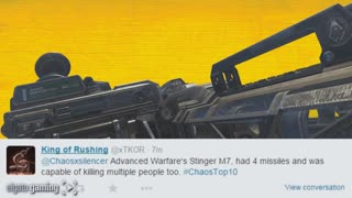 Top 10 Rocket Launchers in Call of Duty History - Video