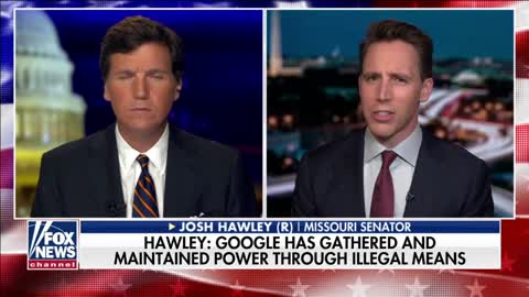 Hawley: Reading the case title US vs Google made me say 'God bless America'