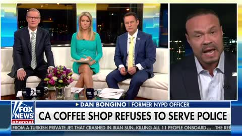 Bongino Roasts Oakland Coffee Shop Over Refusing To Serve Cops - Scalding Hot, All Whip,No Sweetener
