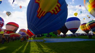 The World's Largest Hot Air Balloon Fiesta