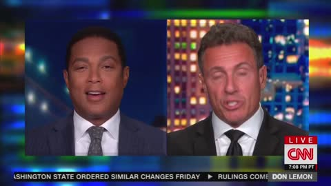Don Lemon's call to 'blow up' system of government too much even for CNN colleague Chris Cuomo