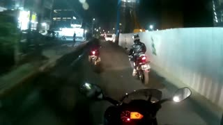 Yamaha Bike Accident