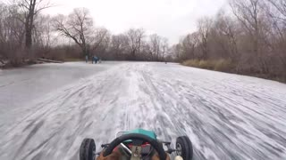 Go-Karting on a Frozen River
