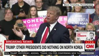 Trump Calls Out MSNBC Chuck Todd - Video