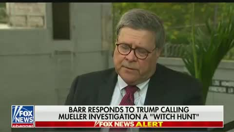 """Attorney General Bill Barr: Nancy Pelosi and others are trying to """"discredit me"""