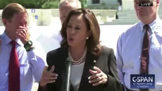 Kamala Harris and body control - Video