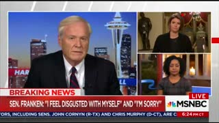 MSNBC: Democrats Were Running Away From Our Cameras To Not Talk Franken - Video