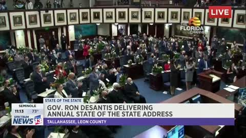 Gov. Ron Desantis Tears Into Lockdown Culture