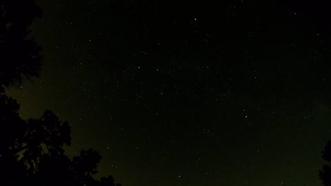 Post Perseids meteor Shower 2018 Timelapse