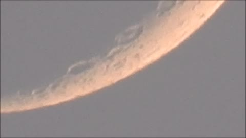 June 15th Moon After Sunset