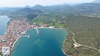 Spectacular drone footage of Hermione, Greece - Video