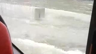 Flood in Singapore - Video