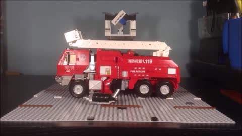 STOPMOTION CiiC AOE Oversized 119 Fire Rescue Hound