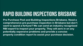 building and pest brisbane - Video