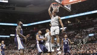 Spurs' Kawhi Leonard Named Defensive Player of the Year for 2nd Straight Year - Video