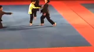 Martial art dancing performance 1 - Video