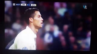 VIDEO: Cristiano Ronaldo epic fail vs Sporting Lisbon