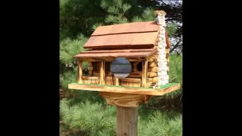 11 The Most Beautiful Bird Houses