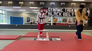 TKD 3rd Degree Blackbelt Testing - Breaking