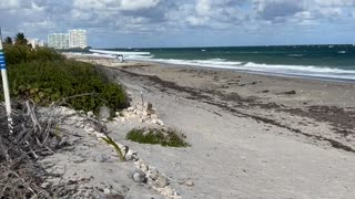 Small Plane Makes Emergency Landing on South Florida Beach
