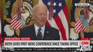 Larry Elder Dissects Biden's First Press Conference